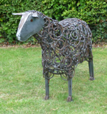 Sheep sculpture by Sophie Thompson